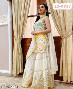 Trendy Fabulous Sharara