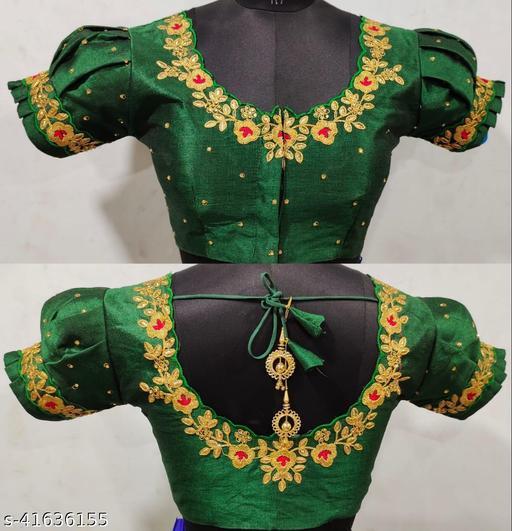 New Jalpari Silk Blouse