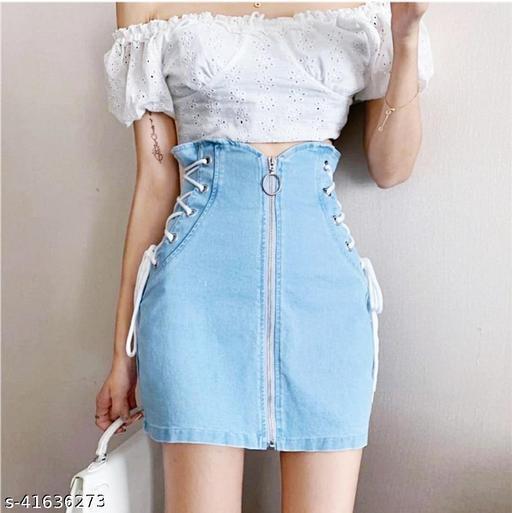 Fancy Feminine Women Western Skirts