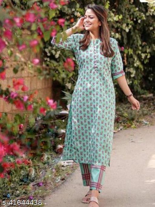 pinkvilla printed kurti with pant