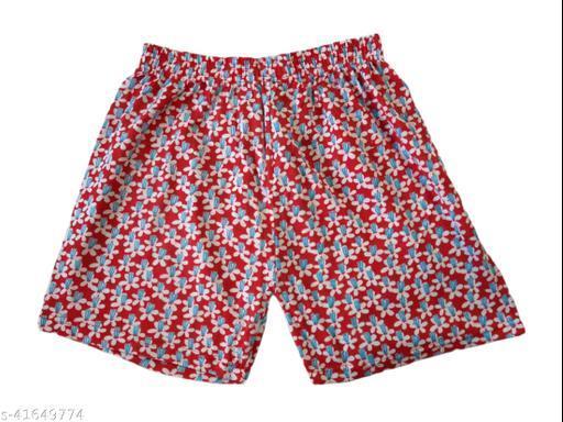 Women's Comfortable Printed Shorts N10