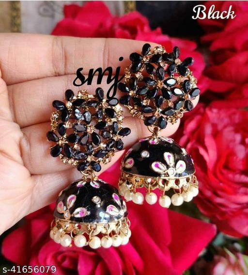 Designer Celebrity  mEENAKARI Jumka Earring Set