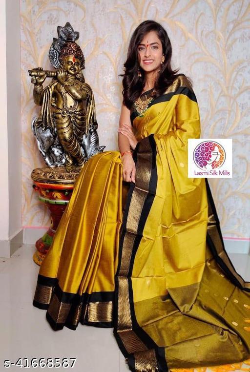 Laxmi silk Gold and Pink Paithani Design Cotton silk saree