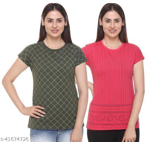 SHAUN Women Regular Fit T-Shirt