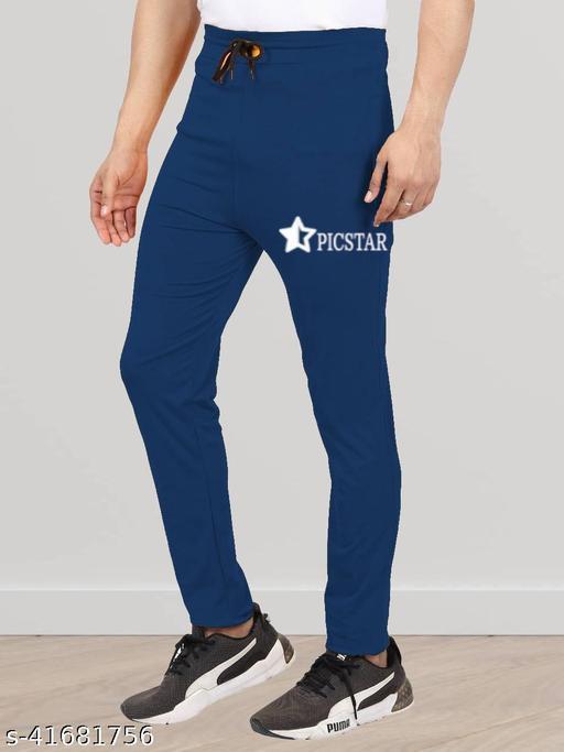 PICSTAR Fox Daily Wear/Sleep Wear/Sports Wear Two Side Zip Trackpant/Lower For Men