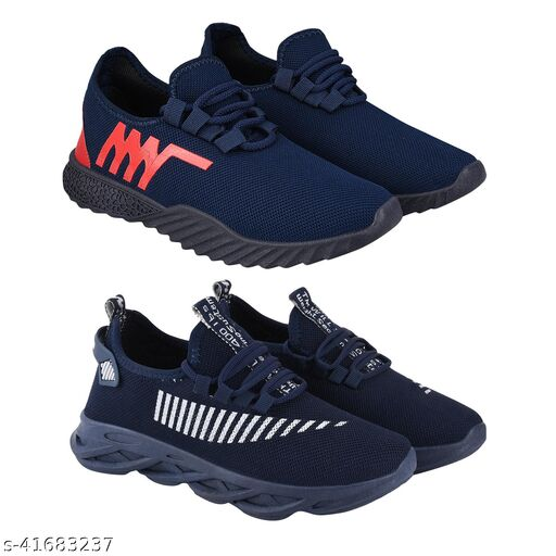 Trendy Casual Shoes For Men Pack Of 2
