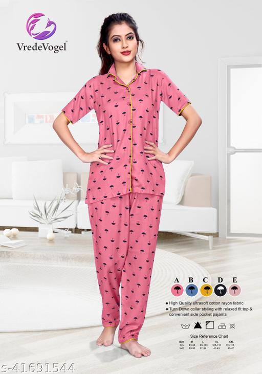 SkyLand Creation Women's Night Suits