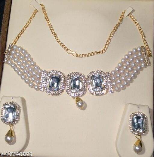 Shimmering Chunky jewellery set
