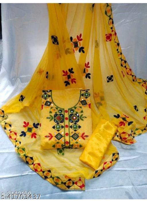 Fancy Modal Chanderi Suits&Dress Material