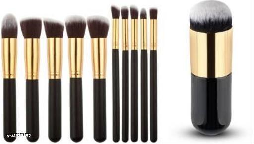 CETC Makeup Brush Set of 11(Pack of 11)