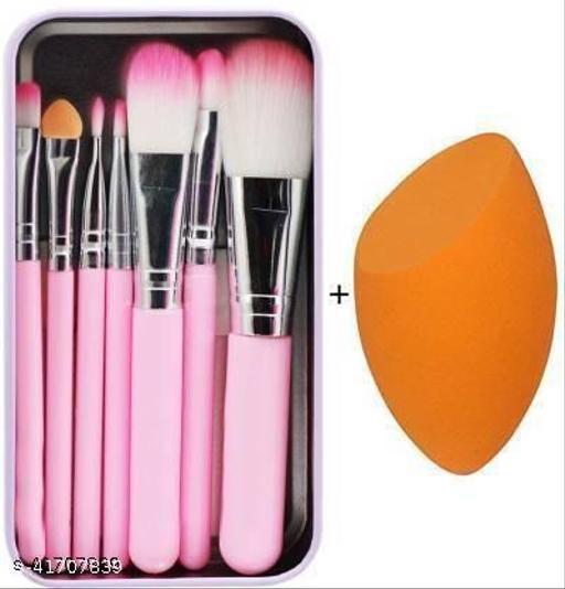 Puka Makeup brush set(Pack of 8)