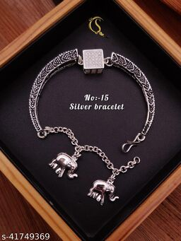 stylish silver breslate for womens