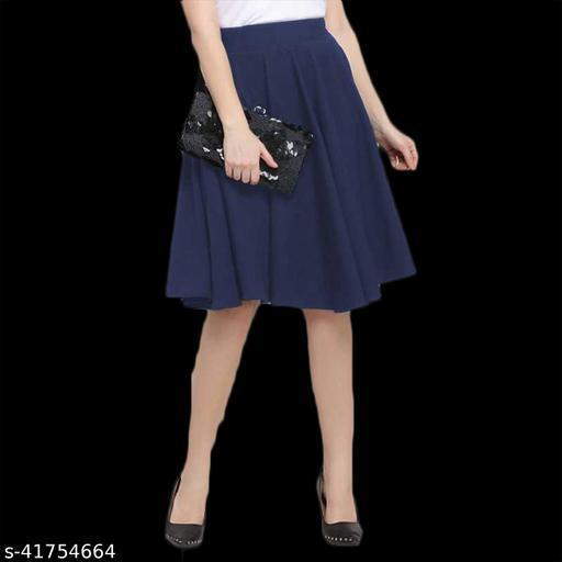 Cotton Blend Skirt(Free Size)
