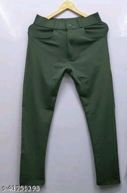 shine fairy 2way Lycra Fabric Fully Strechable N Comfortable pant for men