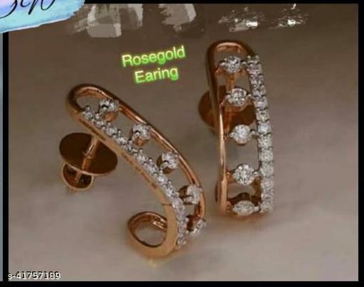CZ Studded Fancy Earring