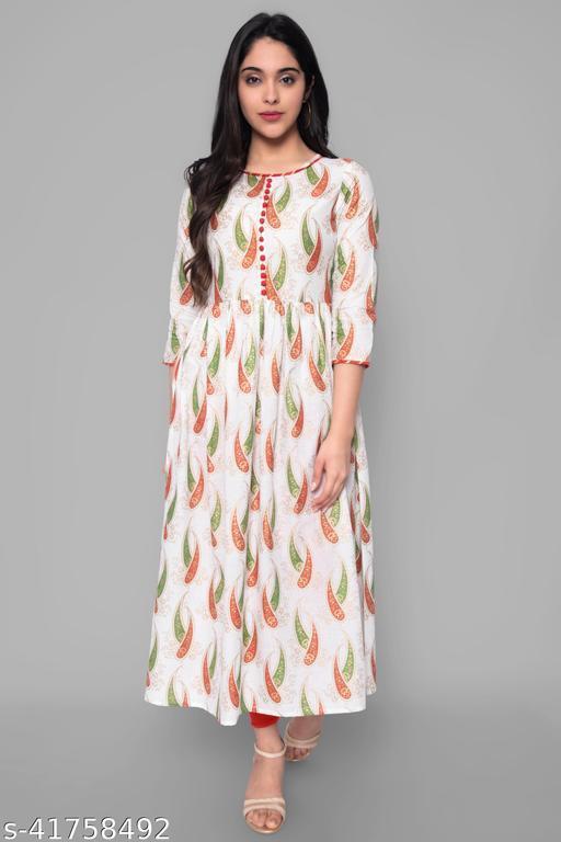 womens cotton partywear kurta