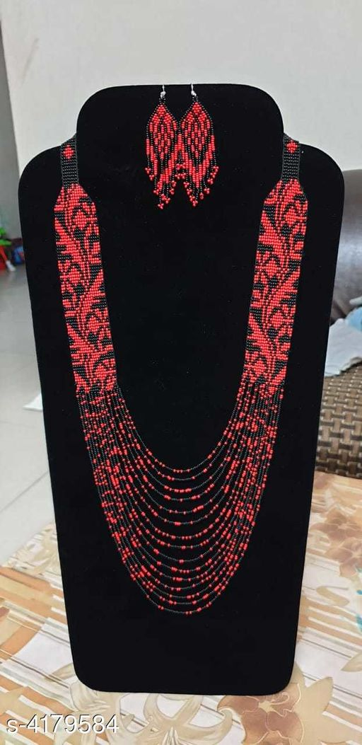 Krafty Women's Beads Jewellery Set