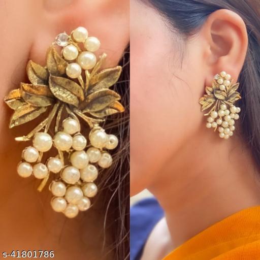 Justrealdeal Oxidized Jhumki Earrings for Women Design 12
