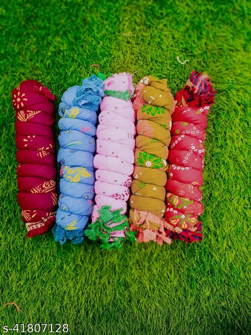 Cotton Dupatta Combo of 5