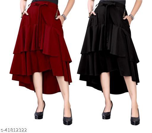 Gorgeous Unique Women Skirt