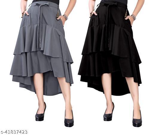 304 GREY BLACK Skirt