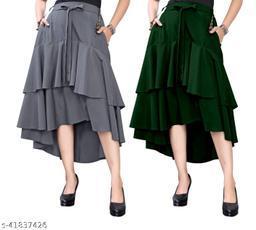 305 GREY GREEEN   Skirt