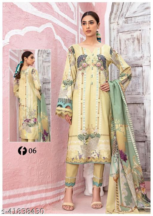 Pakistani Firdous Suits (Lemon Yellow)
