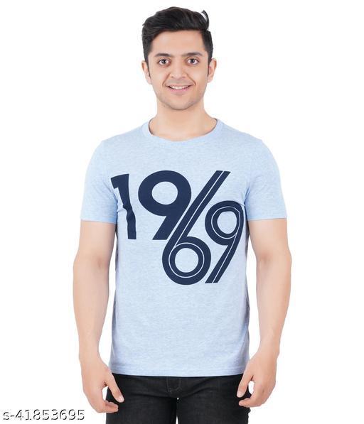 RIGHT & ROYAL Men's Printed T-shirt