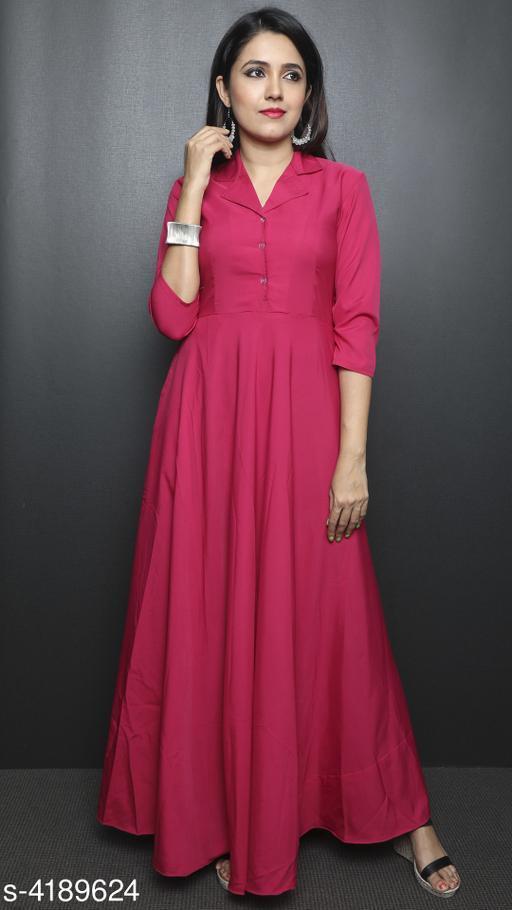 Stylish Rayon Cotton Dress