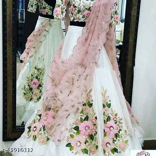 NEW DESIGNER WEDDING WEAR SKM-AP 5065N  LEHENGA