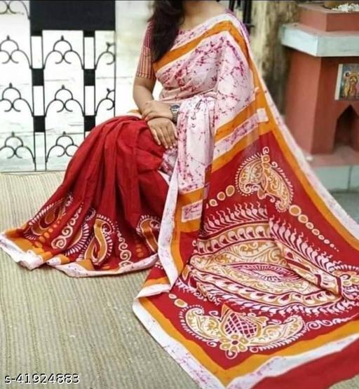 Mulmul Cotton Saree (Pure Cotton)