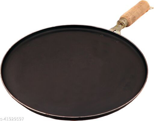 Navbharat 22 Tawa 30 cm diameter (Cast Iron, Non-stick)