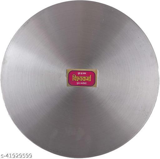 Navbharat Tawa1 Tawa 30 cm diameter (Aluminium, Induction Bottom)