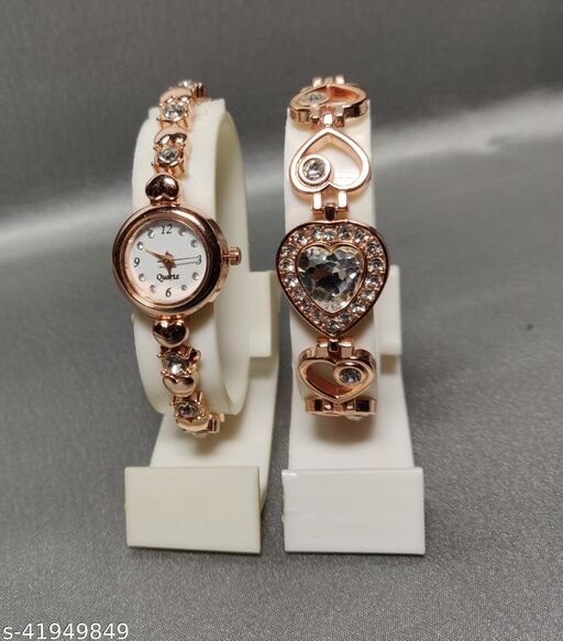 new braslet with watches for women