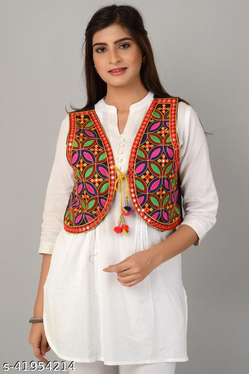 Aakarsha Fashionable Women Ethnic Jackets