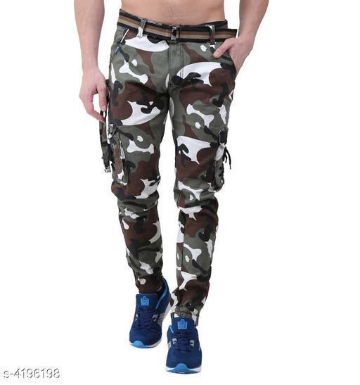 Comfy Cotton Men's Cargo Trouser