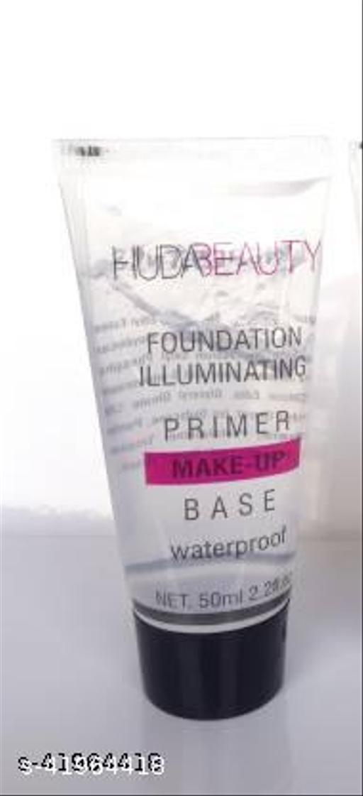 Most Beautiful Trending 1 Foundation illuminating primer, waterproof Luxury Primer Pack of 1Primer - 100 ml  (White)
