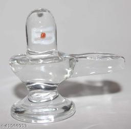 Original crystal shivling original shivling decorative showpiece - 5cm
