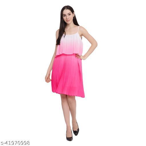 Anaghakart Georgette strap Dress