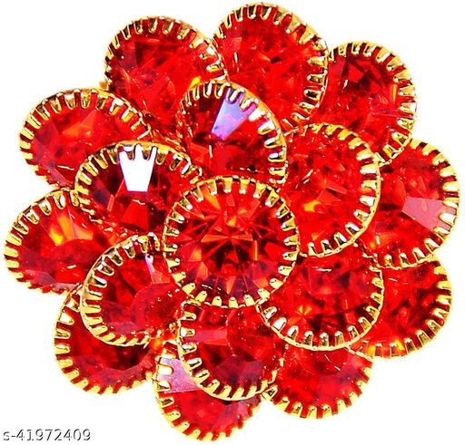 aetas premium quality red ring for women and girls