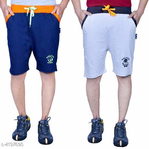 Fancy Cotton Men's Shorts