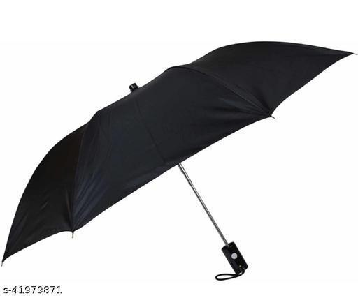 Casual 2 Fold Umbrella for Men and Women (Black)