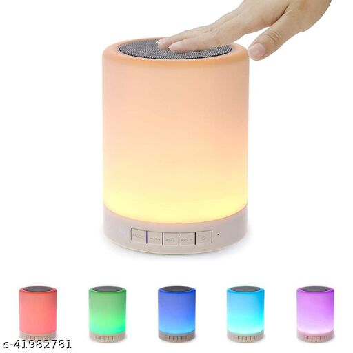 Jiffame™ Touch Lamp Bluetooth Speaker With Mic For Hand-Free/ Splashproof (Bluetooth 5.1)