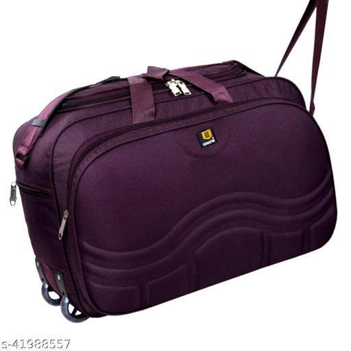 Elegant travel duffle bag for men and women