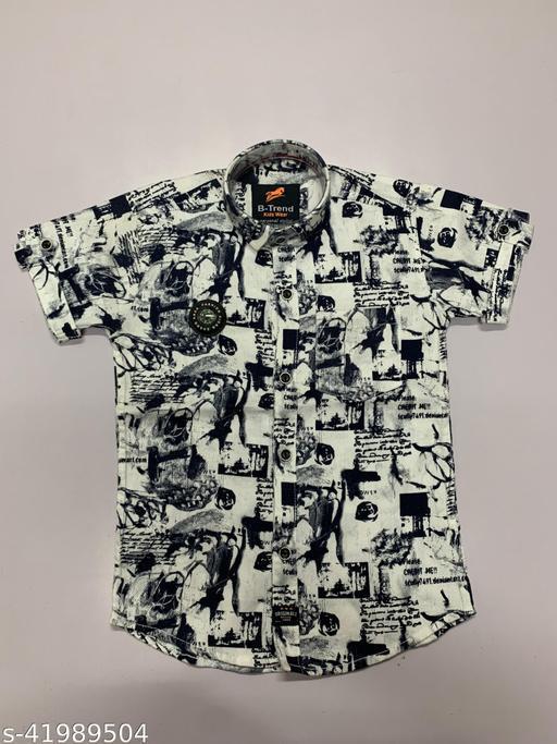Flawsome Comfy Boys Shirts