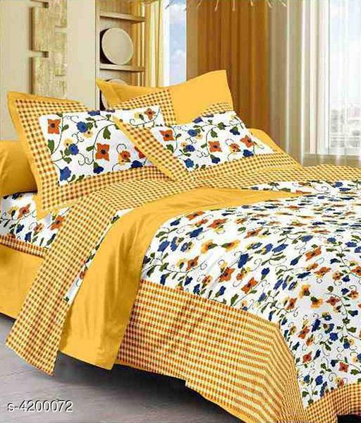 Olla Stylish Printed Double Bedsheets