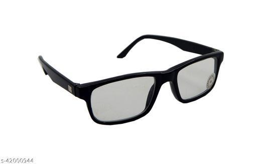 Els Unisex Photochromatic, Day Night Sunglasses, Rectangular, Black (12-50-BL-CR-S)