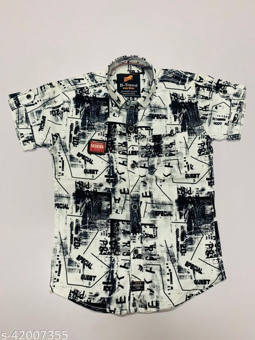 Agile Fancy Boys Shirts