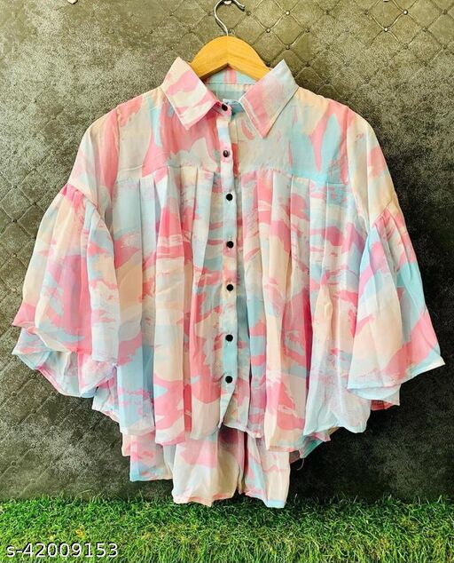 Super Attractive Rainbow Top For Stylish Girls and Women