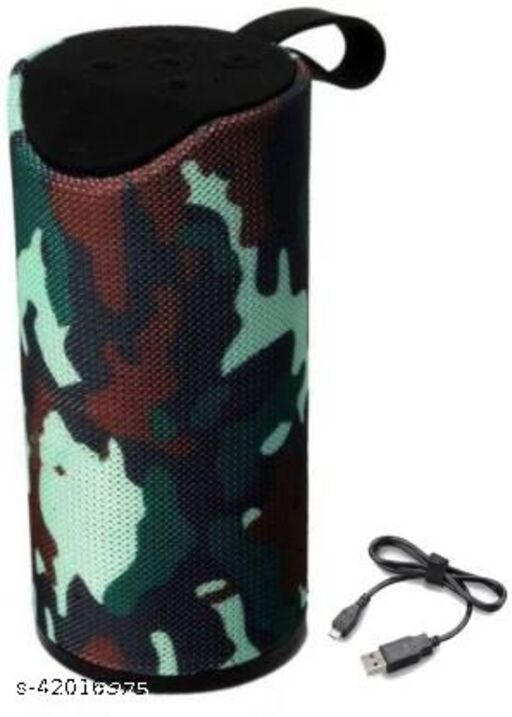 TG-113 Premium Shockproof & Splashproof Bluetooth Speaker with Built-in Microphone Tf/USB/Aux 5 W Bluetooth Speaker Blue 5 W Bluetooth Speaker